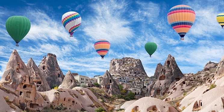 Top 5 places with spectacular view in Turkey